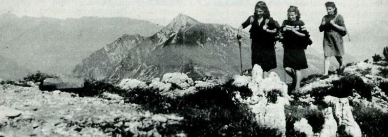 Staffette partigiane sulla Corna Blacca (1944)