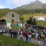 L'arrivo dei partecipanti prima della cerimonia