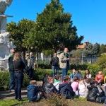 Bedizzole, Incontro con le scuole primarie al monumento ai Partigiani