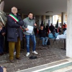 Concesio, il sindaco Retali e l'oratore Michele Porretti