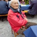 Il partigiano Guerino Berneri alla festa FF.VV.