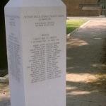 Brescia, La stele che ricorda i caduti partigiani al Vantiniano