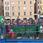 Brescia, La piazza gremita