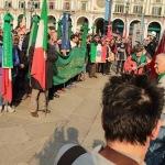Brescia, Labari, striscioni e bandiere