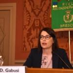 La prof.ssa Daria Gabusi