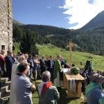 Il Vescovo di Brescia celebra la Santa Messa
