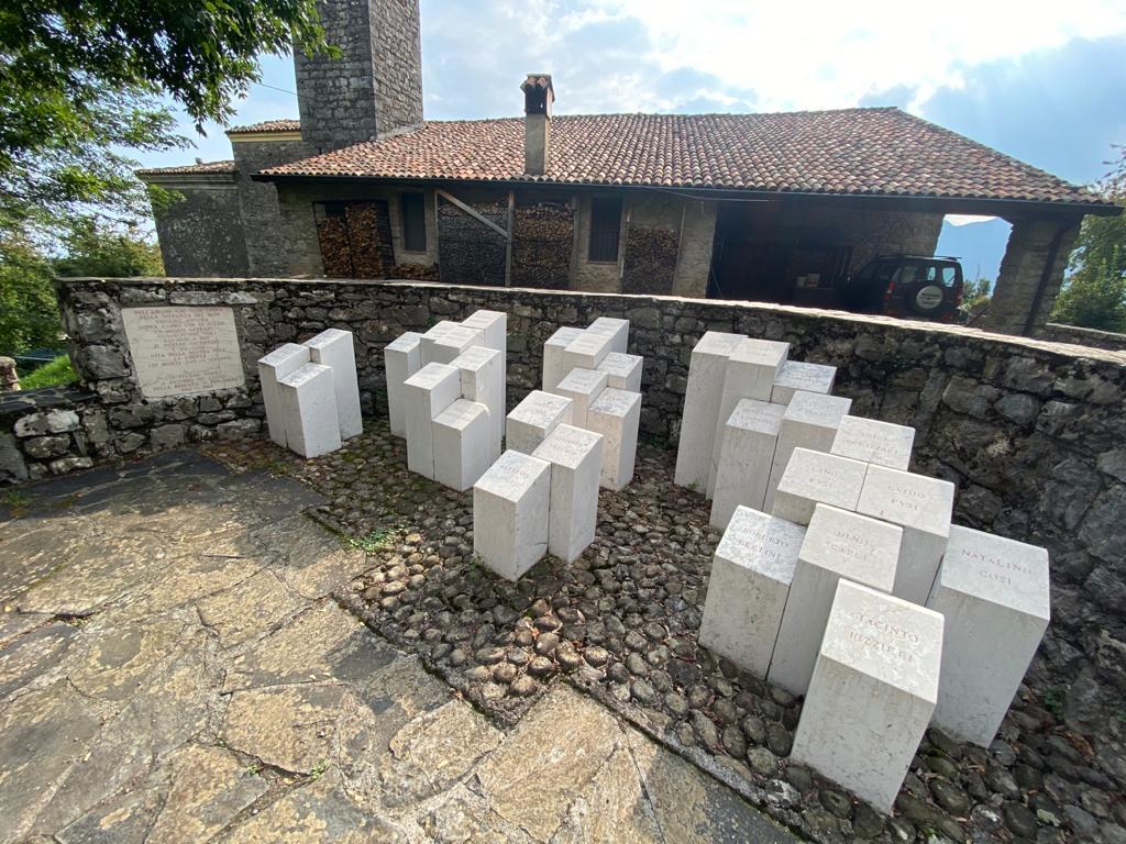 """Il Monumento-Sacrario dei Caduti della Brigata """"G. Perlasca"""""""