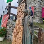 La stele per le vittime Covid-19