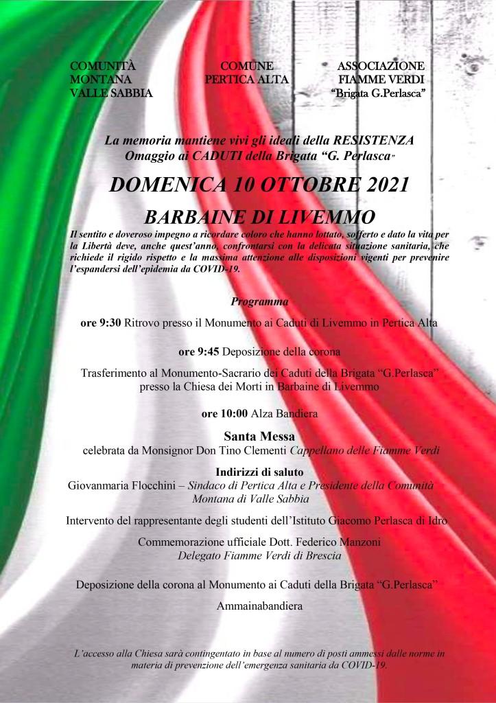 Il programma della manifestazione
